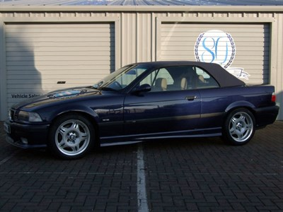 Lot 126 - 1998 BMW M3 Evolution Convertible