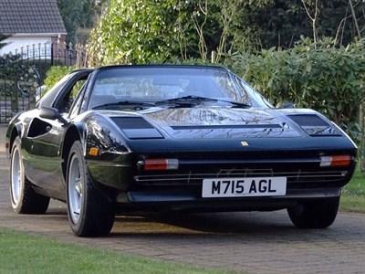 Lot 27-1984 Ferrari 308 GTS QV