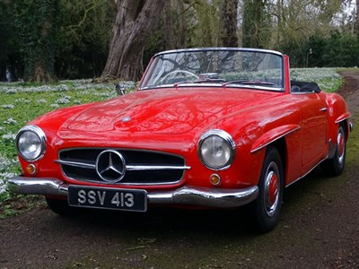 Lot 16-1962 Mercedes-Benz 190 SL