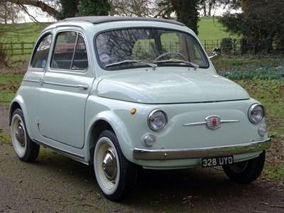 Lot 12-1962 Fiat 500 D Trasformabile