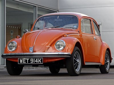 Lot 68-1972 Volkswagen Beetle 1300