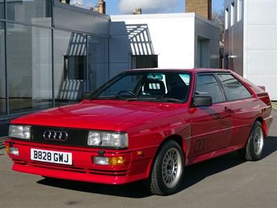 Lot 70-1985 Audi Quattro