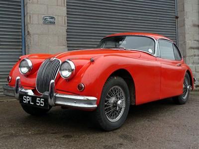 Lot 13-1958 Jaguar XK150 SE 3.4 Litre Fixed Head Coupe