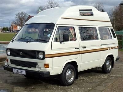 Lot 77-1987 Volkswagen Komet High Top Camper Van