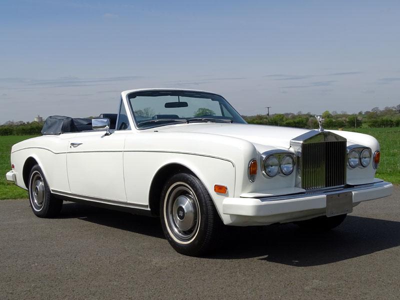Lot 80-1982 Rolls-Royce Corniche Convertible