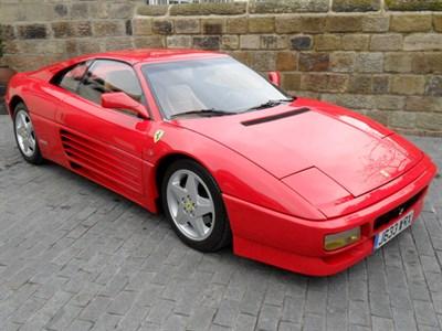 Lot 61-1992 Ferrari 348 TS