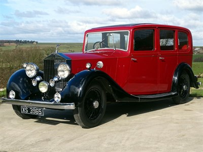 Lot 33-1935 Rolls-Royce 20/25 Limousine