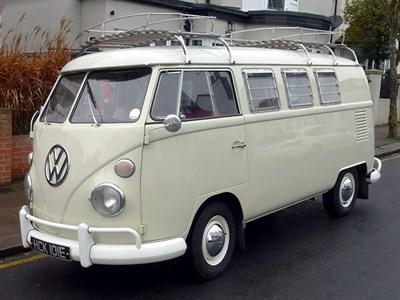Lot 109-1967 Volkswagen Kombi Riviera Camper Van