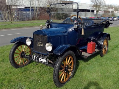 Lot 21-1919 Ford Model T Tourer