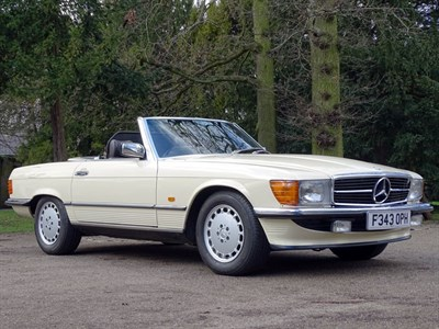 Lot 28-1989 Mercedes-Benz 300 SL
