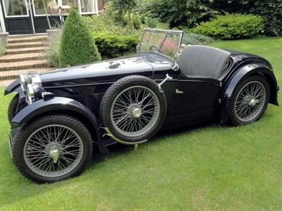 Lot 43-1932 MG F-Type Magna Stiles 'Threesome Sports' Tourer