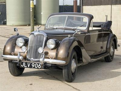 Lot 1-1948 Riley RM 2.5 Litre Drophead Coupe Conversion