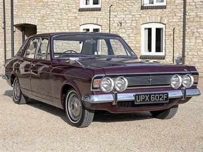 Lot 62-1968 Ford Zodiac MKIV Executive