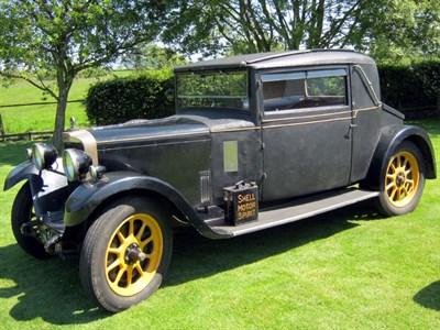 Lot 92-1929 Talbot 14/45 Weyman Coupe