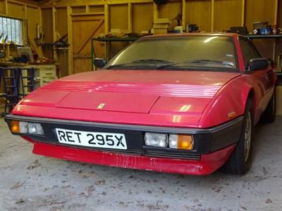 Lot 63-1982 Ferrari Mondial 8