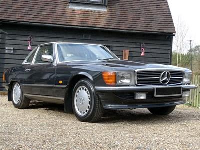 Lot 80-1986 Mercedes-Benz 500 SL