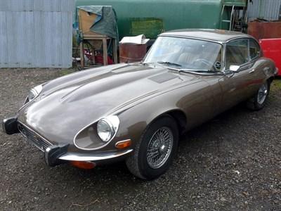Lot 34-1973 Jaguar E-Type V12 Coupe