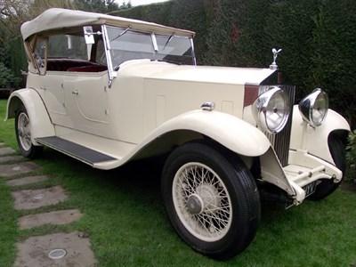 Lot 46-1933 Rolls-Royce 20/25 Tourer