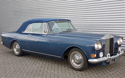 Lot 85-1965 Rolls-Royce Silver Cloud III Drophead Coupe