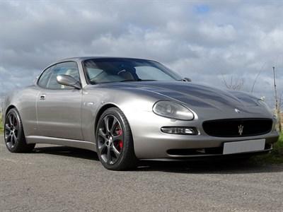 Lot 81-2003 Maserati 4200 GT Coupe Cambiocorsa