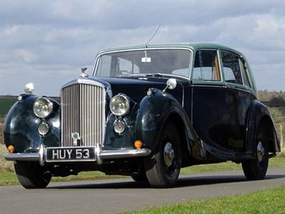 Lot 19-1949 Bentley MK VI H.J. Mulliner Saloon