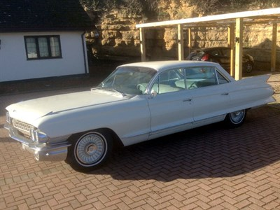 Lot 39-1961 Cadillac Eldorado Sedan