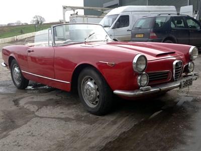 Lot 91-1964 Alfa Romeo 2600 Spider