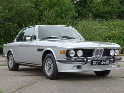 Lot 15-1974 BMW 3.0 CSi