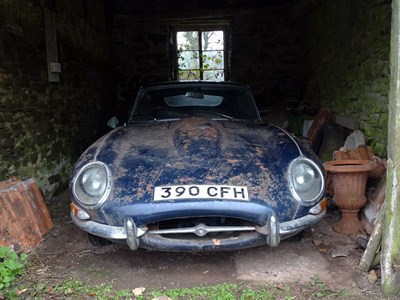 Lot 26-1962 Jaguar E-Type 3.8 Coupe