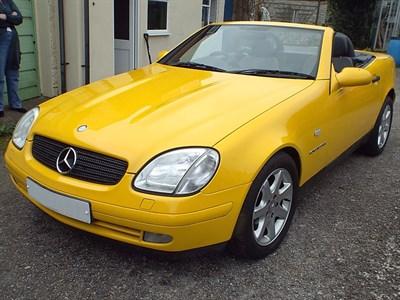 Lot 39-1997 Mercedes-Benz SLK 230 Kompressor