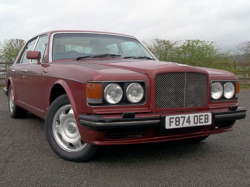 Lot 6-1989 Bentley Turbo R