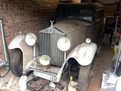 Lot 14-1932 Rolls-Royce 20/25 Saloon