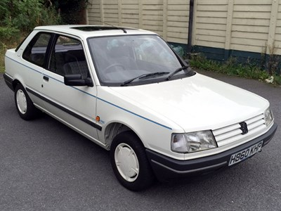 Lot 10-1991 Peugeot 309 Look