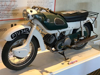 Lot 138-1965 Ariel Arrow 200
