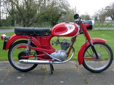 Lot 114-1956 Moto Morini Sbarazzino