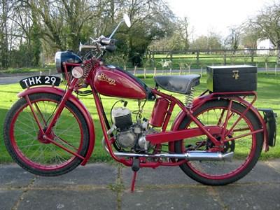 Lot 113-1951 Bown 98cc