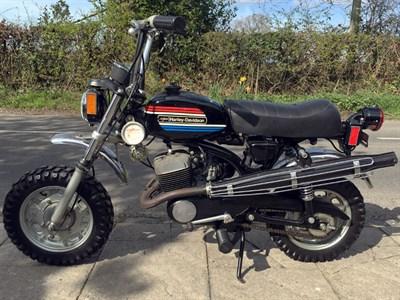 Lot 38-1974 Harley Davidson X90