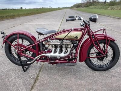 Lot 50-1928 Indian Model 401