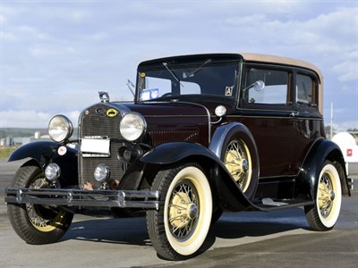 Lot 59-1931 Ford Model A Saloon