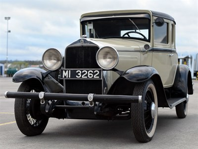Lot 60-1931 Willys Overland Whippet 96A Coupe