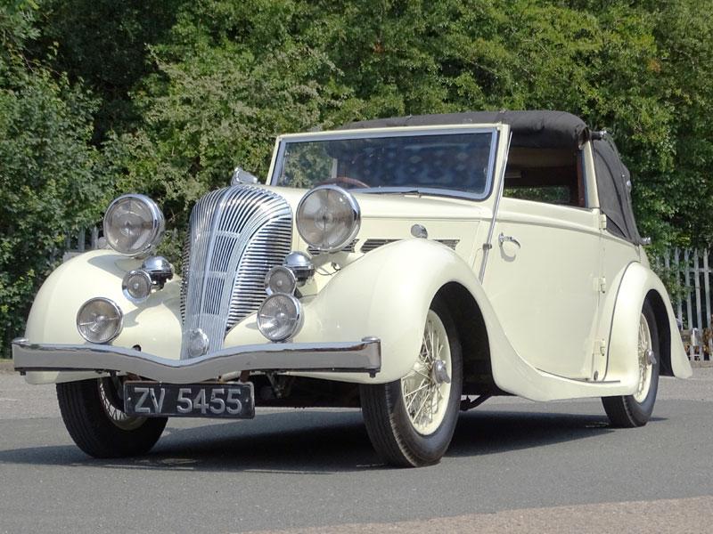 Lot 40-1939 Triumph Dolomite 14/60 Drophead Foursome Coupe
