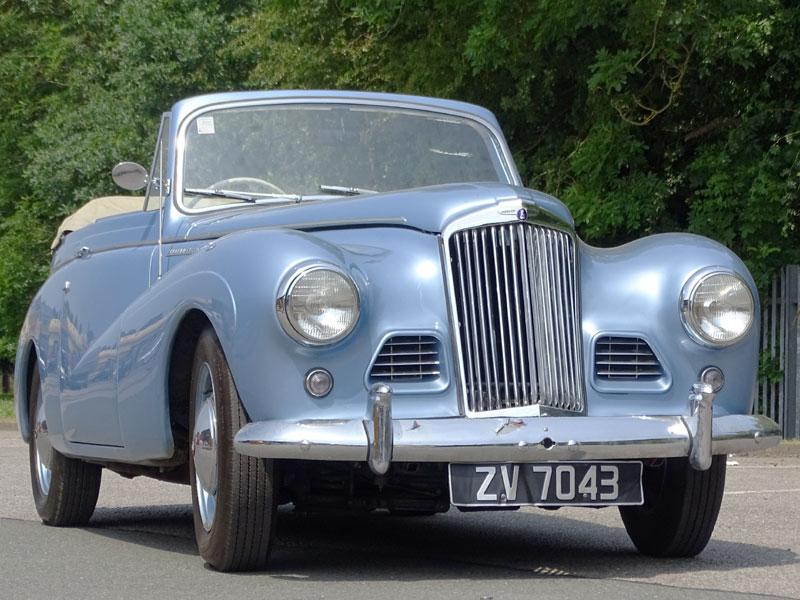 Lot 62-1954 Sunbeam-Talbot 90 MKIIa Drophead Coupe