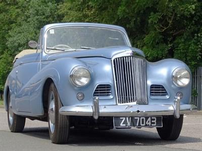 Lot 62 - 1954 Sunbeam-Talbot 90 MKIIa Drophead Coupe