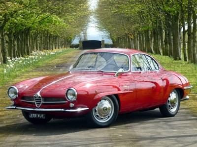 Lot 27-1961 Alfa Romeo Giulietta Sprint Speciale
