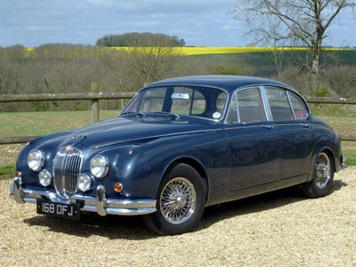 Lot 5-1961 Jaguar MK II 3.4 Litre