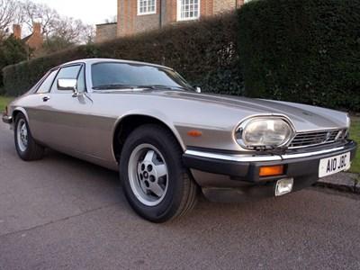 Lot 41-1987 Jaguar XJ-S 5.3 HE