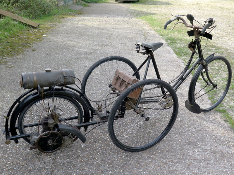 Lot 86-1913 James Wall Quadricycle