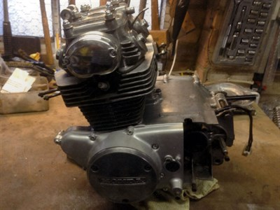 Lot 1-Honda CD175 Engine