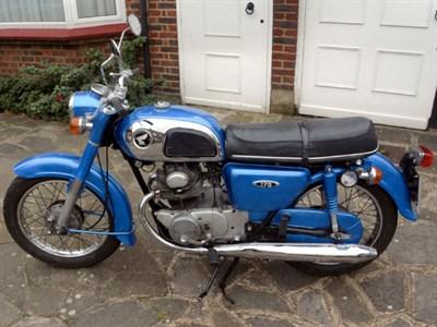 Lot 64-1973 Honda CD175 K4