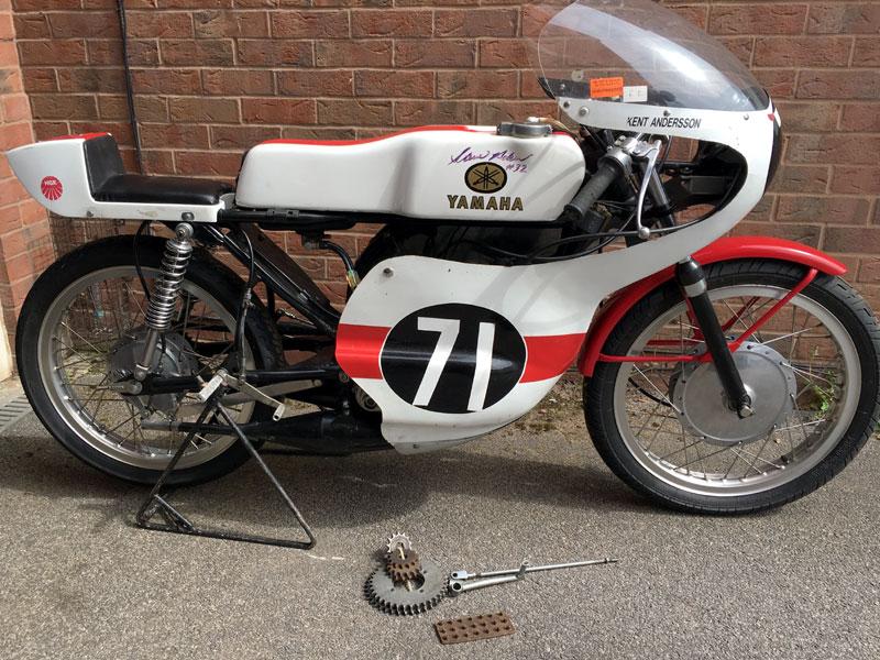 Lot 60-1971 Yamaha TA125